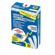 GIOTTO Tizas Robercolor. Caja 10 ud. de color blanco - 735881