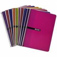 ENRI Pack 10 cuadernos de 80 hojas. 1 línea c/m. 4º (155x215 mm) - 100430104