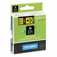 DYMO Cinta D1 (6 mm x 7 m) Negro sobre amarillo - S0720790