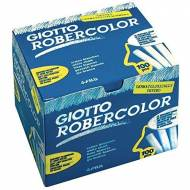 GIOTTO Tizas Robercolor. Caja 100 ud. de color blanco - 538800