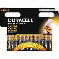 DURACELL Pack 12 pilas alcalinas Plus Power LR03-E92 (AAA) - 394050891