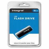 INTEGRAL Memoria USB 2.0 16 Gb - INFD16GBBLK