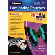 Fellowes 5440602. Pack 25 Fundas Plastificar 80 micras Foto 150 x 100 mm.