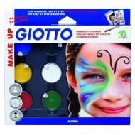 GIOTTO Make up. Maquillaje Set Sombras. 5 botes 5,5ml + blanco 10 ml - 470100