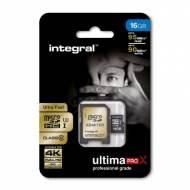 INTEGRAL Tarjeta de memoria micro SDHC (16 Gb) - INMSDH16G10-90U1