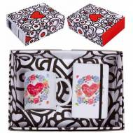 Caja regalo Taza + Libreta Mensaje -Te Quiero - CLM-302