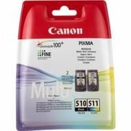 CANON Cartuchos inyeccion PG-510+CL511 Negro+Tricolor Blister 2970B010