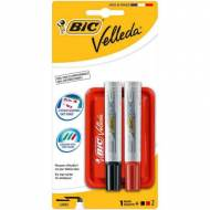 BIC Kit Borrador + Rotuladores Velleda para pizarra blanca - 882405