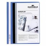 DURABLE Dossiers fástener Duraplus PVC. Formato A4 color Azul - 2579-06