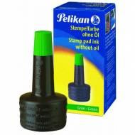 PELIKAN Tinta 4K con aplicador 28 ml. Color verde - 351239