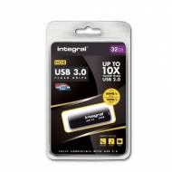 INTEGRAL Memoria USB Noir 3.0, 32 Gb - INFD32GBNOIR3.0