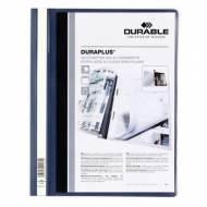 DURABLE Dossiers fástener Duraplus PVC. Formato A4 color Azul oscurl - 2579-07