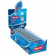 TIPP-EX Cinta correctora Soft Grip. Dimensiones 4.2 mm x 10m.  Aplicación frontal (Pack 10 und.) - 895933