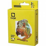 Iberjet B1000Y. Cartucho de tinta amarillo, reemplaza a Brother LC1000Y / LC970Y