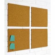 PLANNING SISPLAMO Estuche 4 placas de corcho adhesivo (30 x 40 cm) -  152705