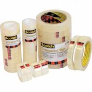 Scotch 550. Cinta adhesiva transparente, 12 mm x 66 m. - Bolsa individual - KT100004409