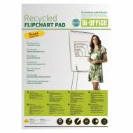 BI-OFFICE Bloc de papel reciclado para caballete, 20 hojas (58,5 x 81 cm.) - FL0111803