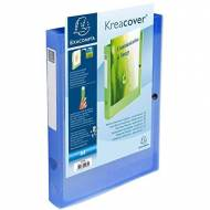 EXACOMPTA 59982E Carpeta de proyectos Krea Cover lomo 40 mm
