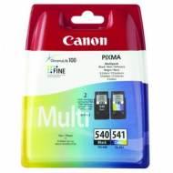 CANON Cartuchos inyeccion PG-540+CL541 Negro+Tricolor Blister+alarma 5225B006