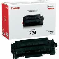 CANON Toner Laser CRG-724BK Negro  3481B002