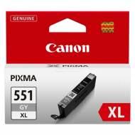 CANON Cartuchos inyeccion CLI-551XLG Gris XL Blister+alarma 6447B004