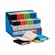 PAPYRUS Cuaderno de direcciones. 96h A7-A6. Pack 24 und. Colores surtidos - 99239