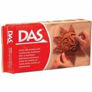 GIOTTO Pasta para modelar DAS, 500 gr. Color terracota - 387100