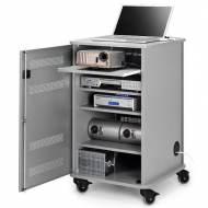 NOBO Mueble multimedia 4 estantes - 1902339