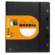 RHODIA Cuaderno Exabook - 80h A5. Medidas 160 x 210 mm. - 132572C