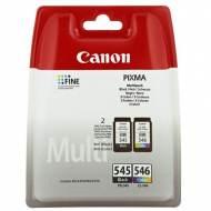 CANON Cartuchos inyeccion PG-545+CL546 Negro+Tricolor Blister+alarma 8287B006