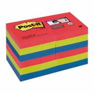 POST-IT Notas adhesivas Super Sticky Bora-Bora. Pack 12 blocs 90h, 51x51mm - 622-12SS-JP