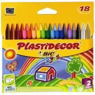 BIC Estuche de 18 plastidecor de colores surtidos - 875771