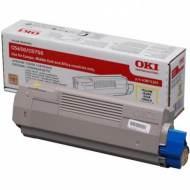OKI Toner Laser 43872305 Amarillo 43872305
