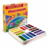 BIC Estuche de 352 plastidecor de 16 colores diferentes - 841719