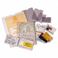 ESSELTE Fundas portacarnets - Caja 100 ud. Dimensiones 67 x 98 mm - 46002