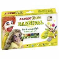 ALPINO DL000008. Set maquillaje Fiesta, 6 colores surtido