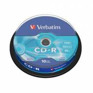VERBATIM CD-R Datalife 52x 700 MB Spindle Retail. Extra Protection - 43437