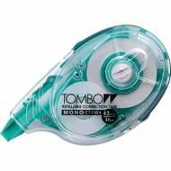 TOMBOW Cinta correctora recargable MONO®. Dimensiones 4.2mm x 16m. Aplicación lateral - CTYXE4