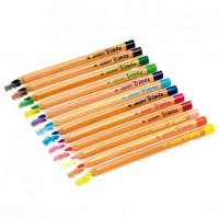 ALPINO AL000377. Caja de 120 lápices triangulares Trimax de colores surtidos