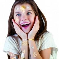 ALPINO DL000212. Caja 4 tubos de maquillaje Liquid Liner plata