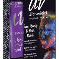 ALPINO DL060170. Estuche de 6 tubos 10 ml. de maquillaje UV violeta.
