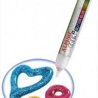 ALPINO DE000029. Bote 50 glitter glues surtidos