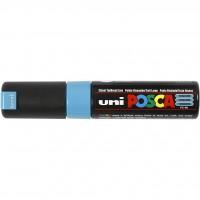 UNI POSCA PC-8K Turquesa. Marcador de pintura no permanente. Trazo 8,0 mm
