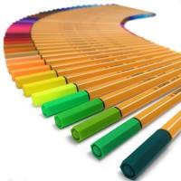 STABILO 8815-3. Estuche 15 rotuladores Point 88 colores neon. Trazo 0.4 mm.