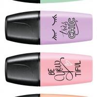 STABILO 07-129-7. Marcador fluorescente Boss MINI Pastellove Edition rubor rosa