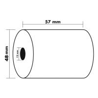 KORES 66675400. Pack 8 rollos de papel térmico de 57x48x12 mm.
