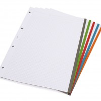 GRAFOPLÁS 88100030. Pack 2 carpetas de anillas con goma CarpeBook Multiline A4. Color azul