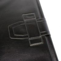 GRAFOPLÁS 08361010. Pack 2 carpetas de anillas y miniclip de PVC negro