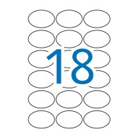 APLI 17378. Etiquetas Kraft permanentes 63,5 x 42,3 mm 10 hojas