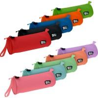 GRAFOPLAS 37543730. Estuche escolar portatodo Redondo Bits&Bobs azul